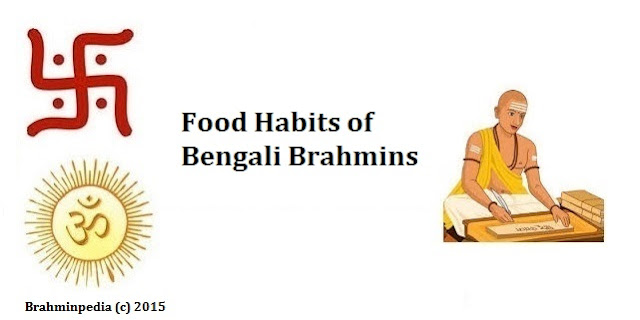 Food Habits of Bengali Brahmins