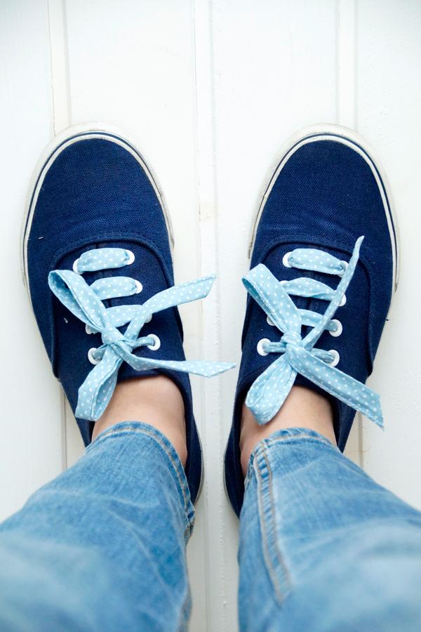 Pimp your Sneakers DIY Schnürsenkel