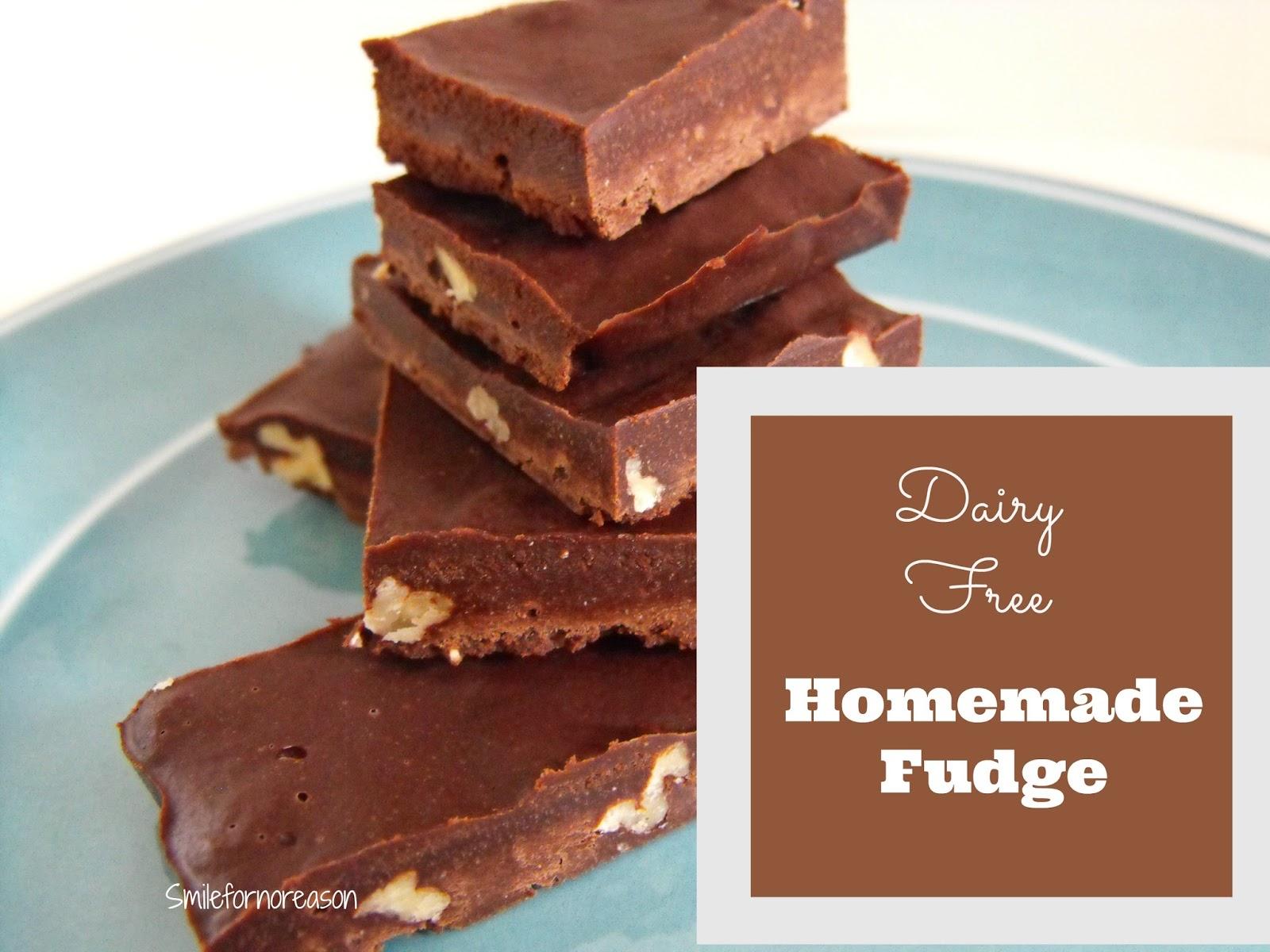 gluten free dairy free fudge