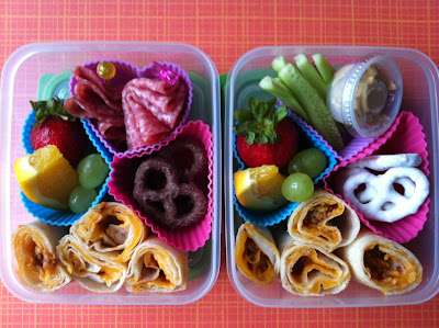 Kids Lunch, Obento, Chilli roll ups