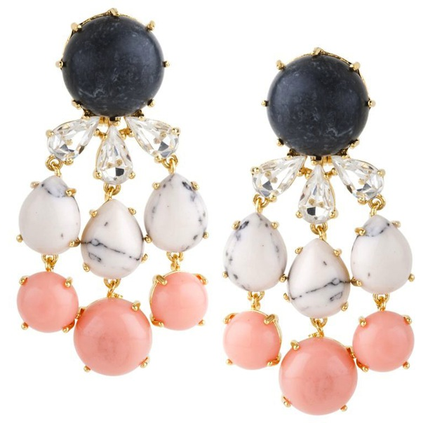 Lele Sadoughi Papyrus Earrings Shop The Loupe