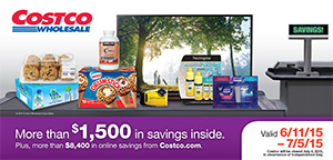 Current Costco Coupon Book June 2015