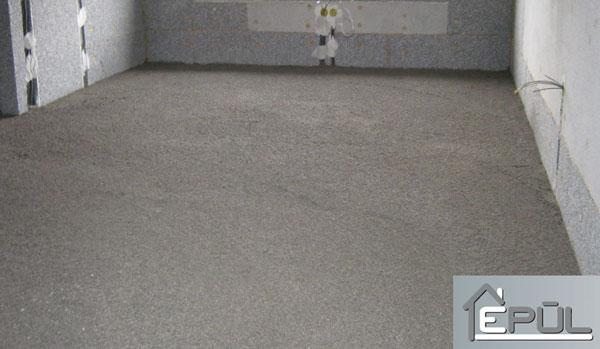 A talajon fekvő padló | Habbeton házak - Épül Kft.