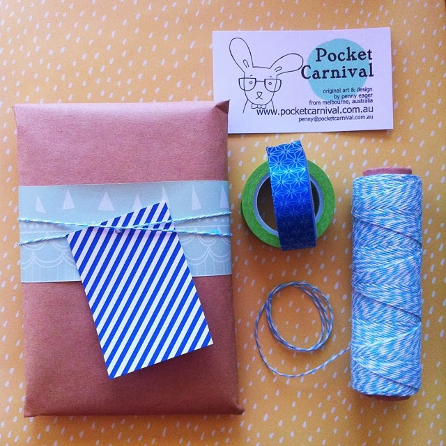 Pocket Carnival Gift Wrapping