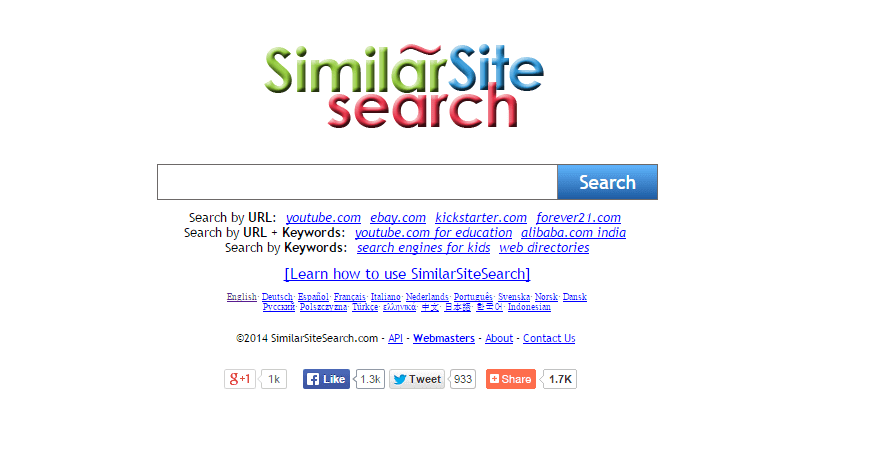 similar site search