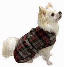 Tartan Wrap Coat