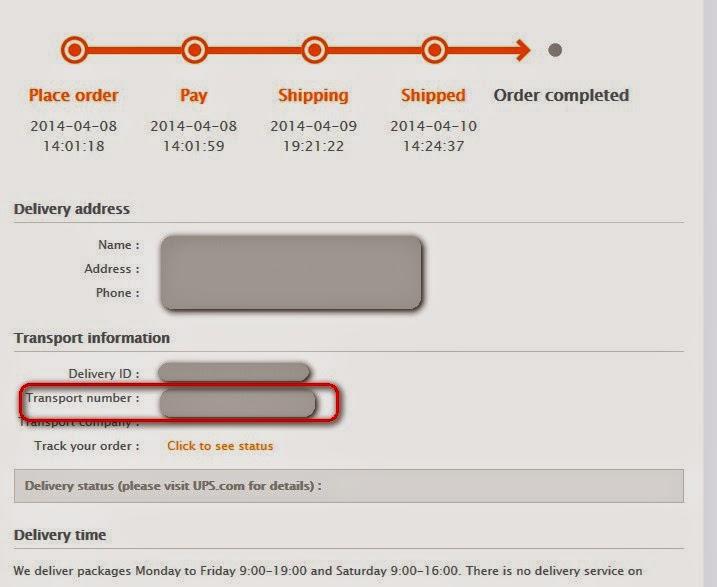 RedMi Order Status