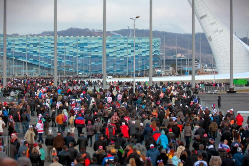 Sochi 2014 Olympic Park venue Ice Palace Iceberg Games