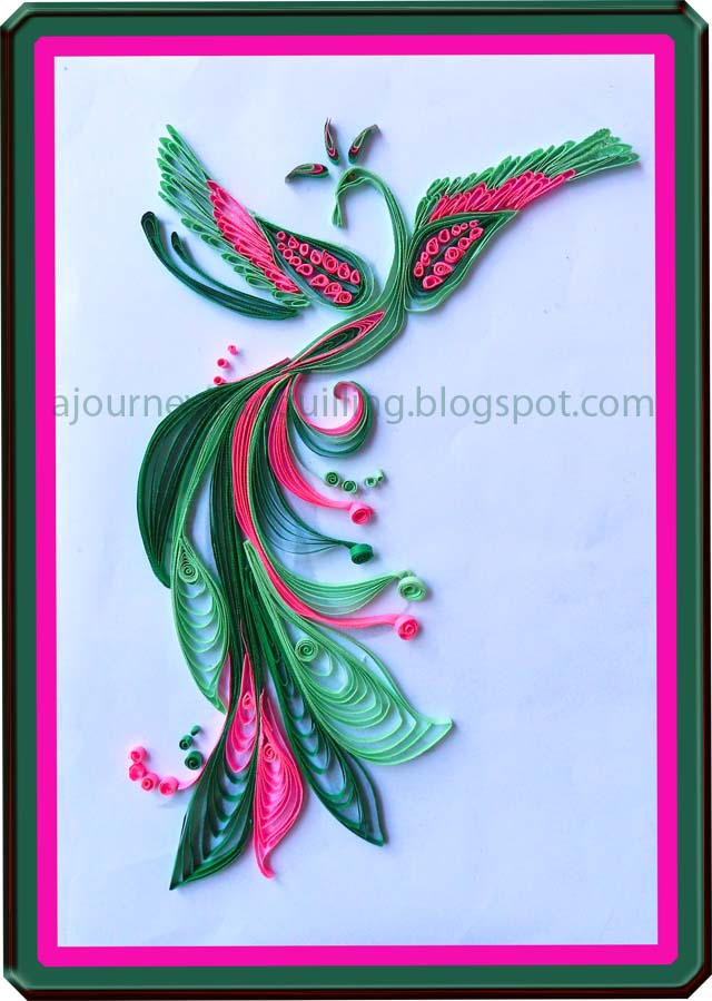 graphic quilling or multi strip quilling my style this graphic quilled