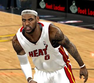 NBA 2K13 Self Shadowing Global Mod