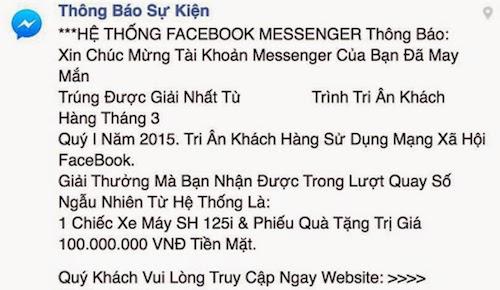 Xử Lý Sự Cố Khi Click Phải Link Lừa Đảo Trên Facebook 1