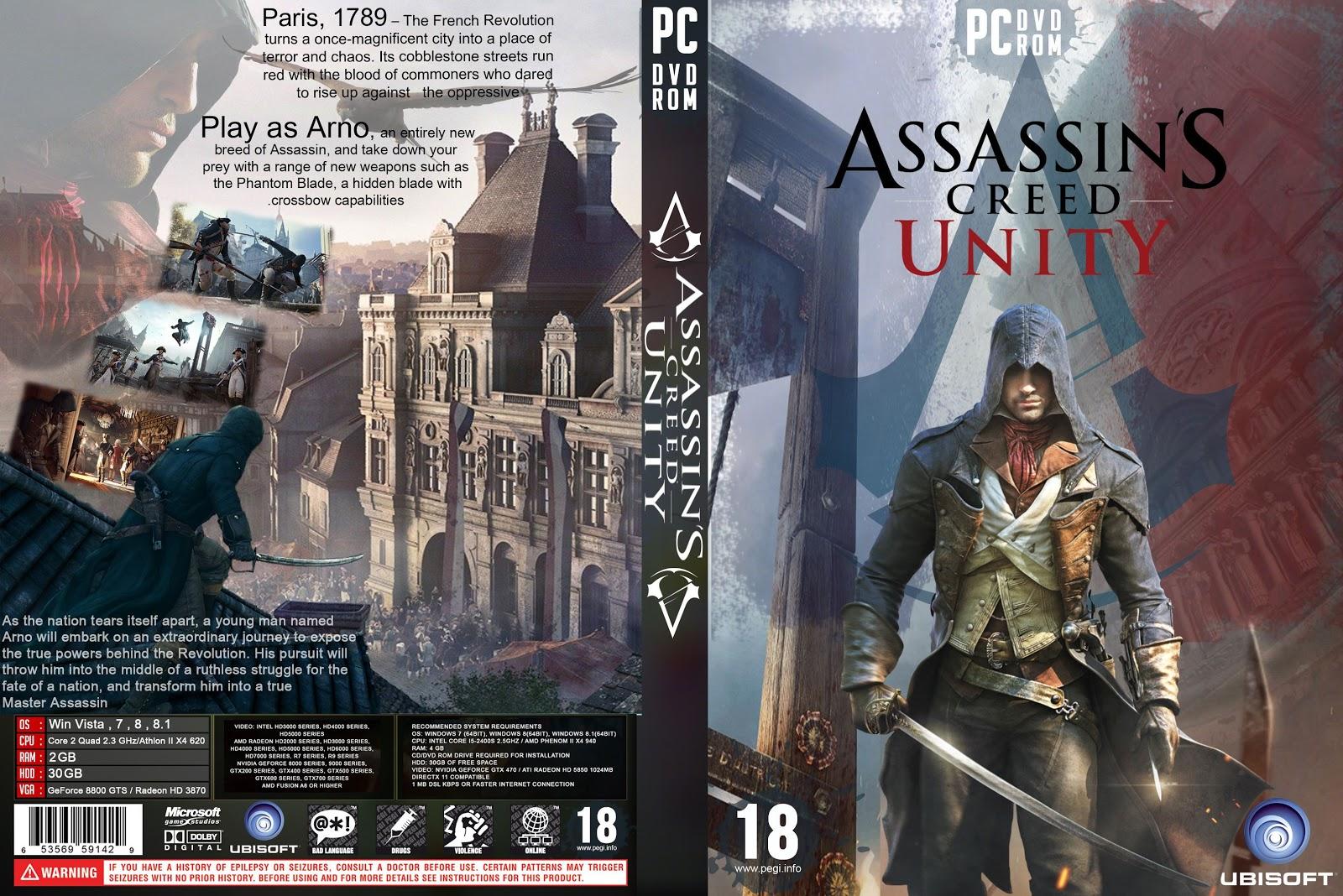 Capa Assassins Creed Unity PC