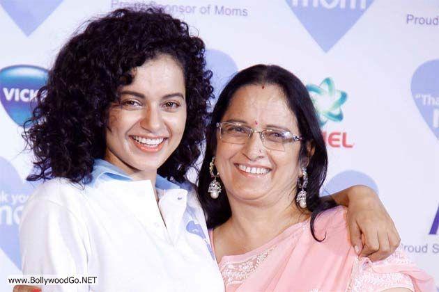 Kangana+Ranaut+with+her+mother+Asha