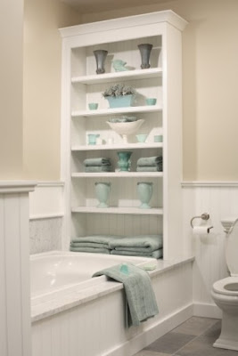Организация хранения ванной комнаты