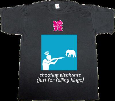 sport Summer Olympic Games london useless kingdoms elephant t-shirt ephemeral-t-shirts