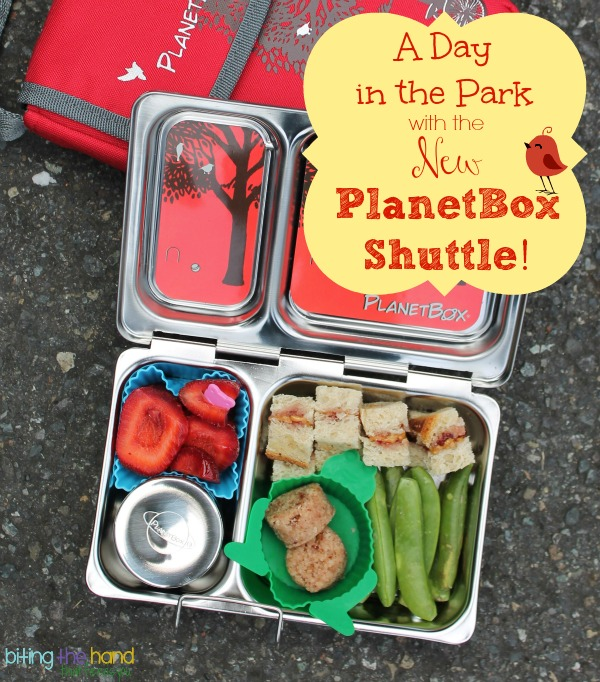 A Day at the Park with the New PlanetBox Shuttle!