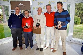Ganadores Campeonato Madrid Pitch&Putt 2012 en RACE