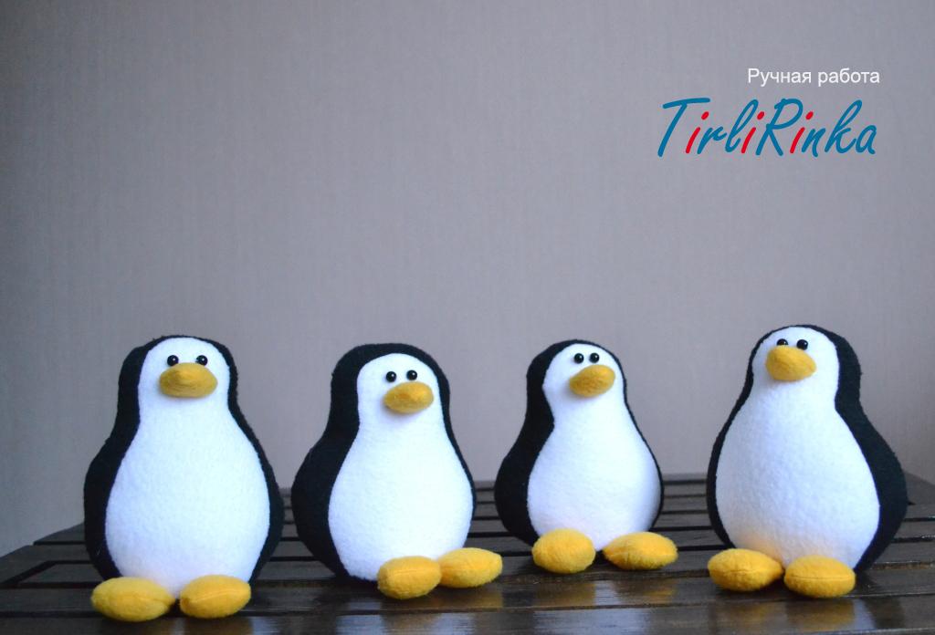 Пингвин своими руками фото