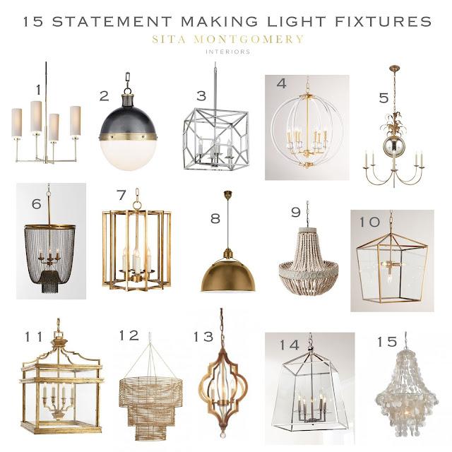 Sita montgomery interiors 15 statement making light fixtures - Making light fixtures ...