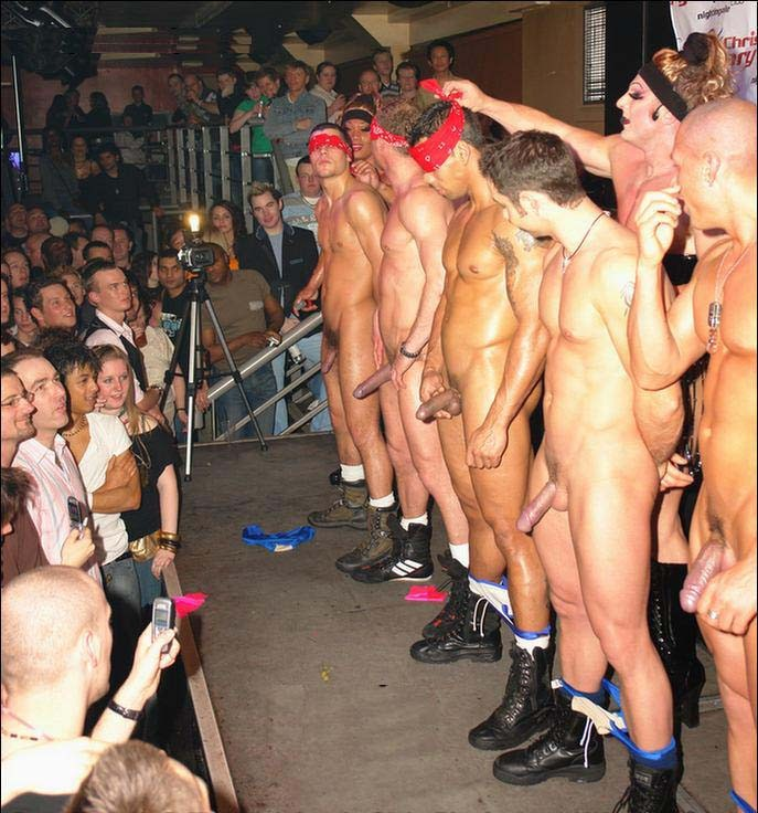 nude cfnm party boys