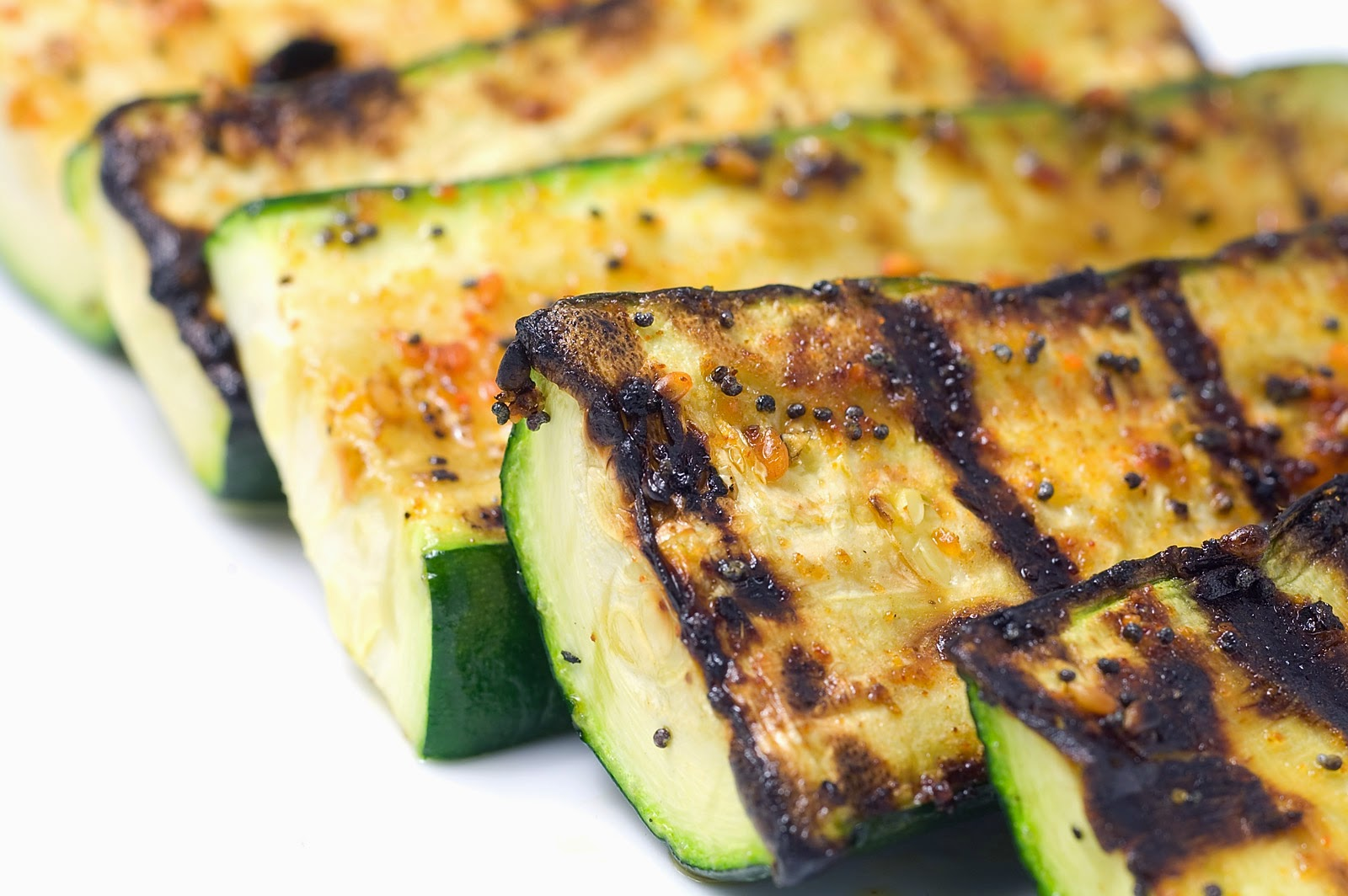 Grilled Zucchini — JACLYN STOKES