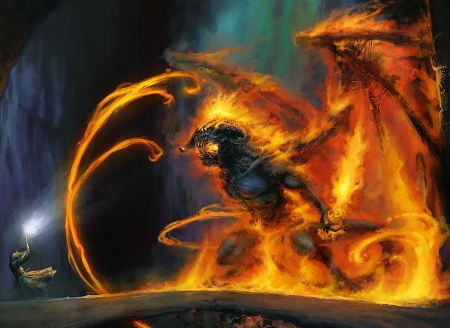Mago da luz contra dragão do abismo, os significados do 666