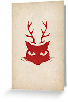 deer cat gift card