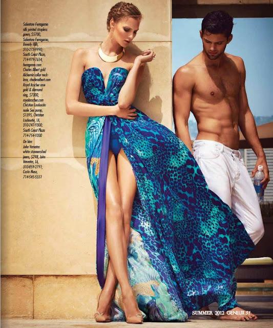 Anna Kazakova for GENLUX Magazine, LA