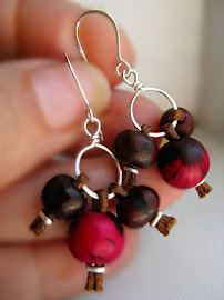 Eco-friendly Acai earrings