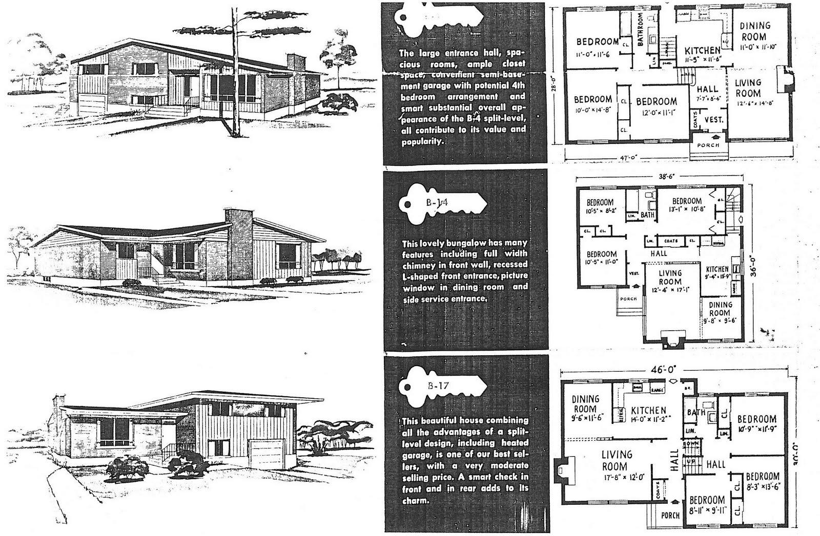 100 1950s bungalow floor plan bi level house plans for 1950 bungalow house plans
