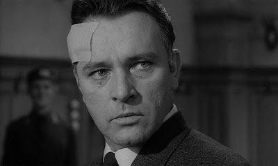 Richard Burton as Alec Leamas in The Spy Who Came in from the Cold, Directed by Martin Ritt