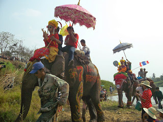Sukhothai Elephant Parade