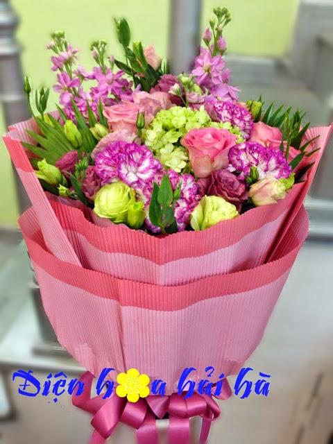 Bó hoa cẩm chướng đẹp