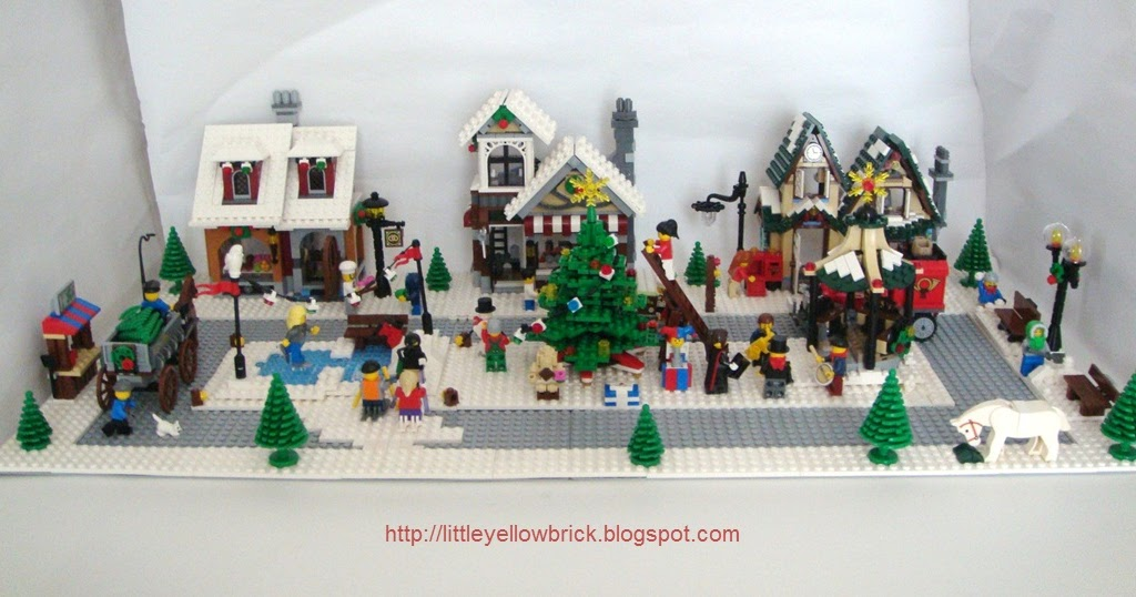 Little Yellow Brick A Lego Blog Our Lego Winter Village