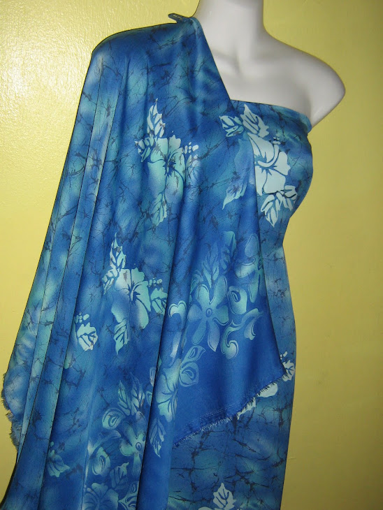 BRCSM 731E : BATIK RETAK CHIFFON CREPE MATCHING, 2M+2M