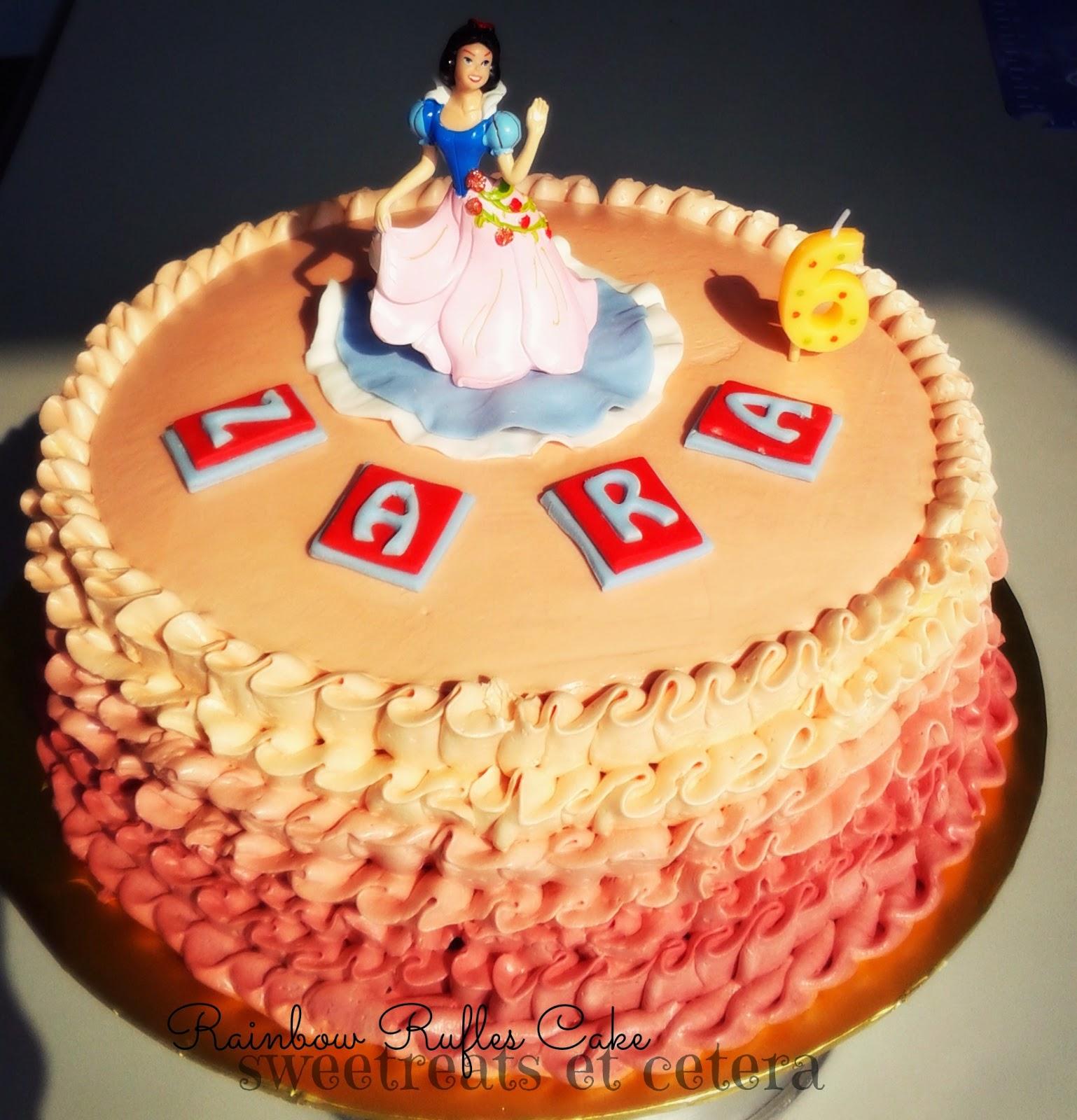 Sweetreats Etcetera: Happy Birthday Zara