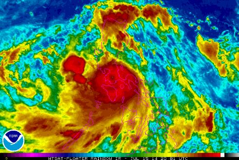 Typhoon Glenda exits Philippines Island