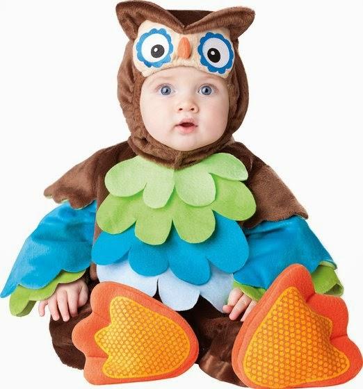 Infant Unisex Baby Owl Costume