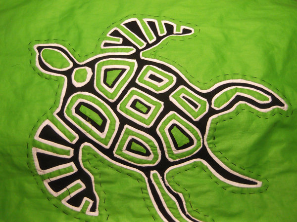 mola, molas, mola tutorial, mola tutorials, how to mola, mola instructions, turtle, textile art,