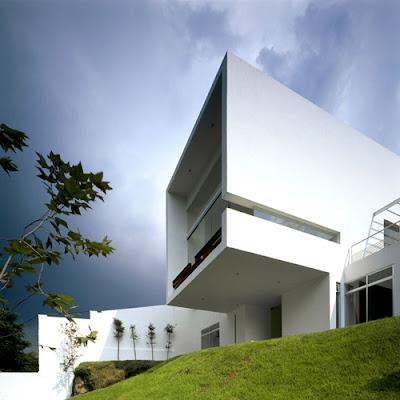 podio casa cubo por agraz arquitectos