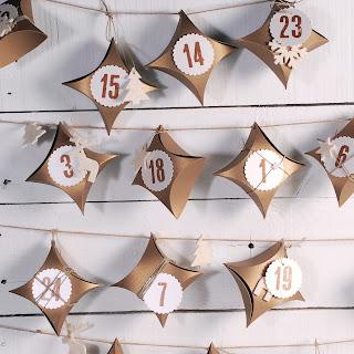 calendario de adviento diy para colgar cajas cajitas self packaging