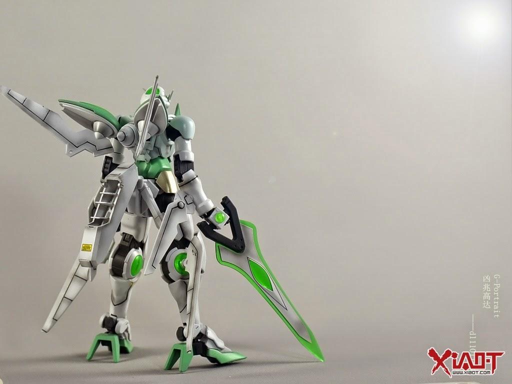 Gundam family hgbf 1 144 gundam portent custom build for Portent gundam hg