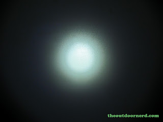 FandyFire STL-V2 Flashlight - Beam Shot: High