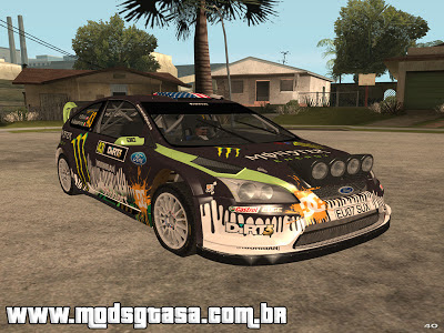 Ford Focus RS WRC para GTA San Andreas