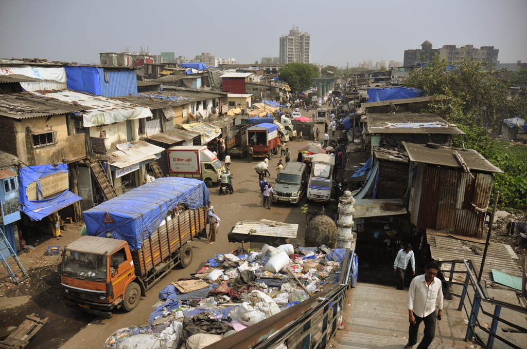 Dharavi in India.
