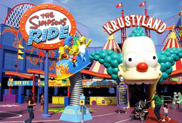 Universal Studios Orlando Simpsons