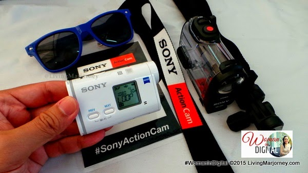 Review of Sony Action Camera AS200VR