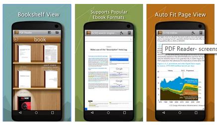 تطبيق مجاني لعرض وإدارة وتنظيم ملفات ال PDF علي الاندرويد PDF Reader 4.5 APK