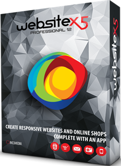 Incomedia WebSite X5 Professional V12.0 Full