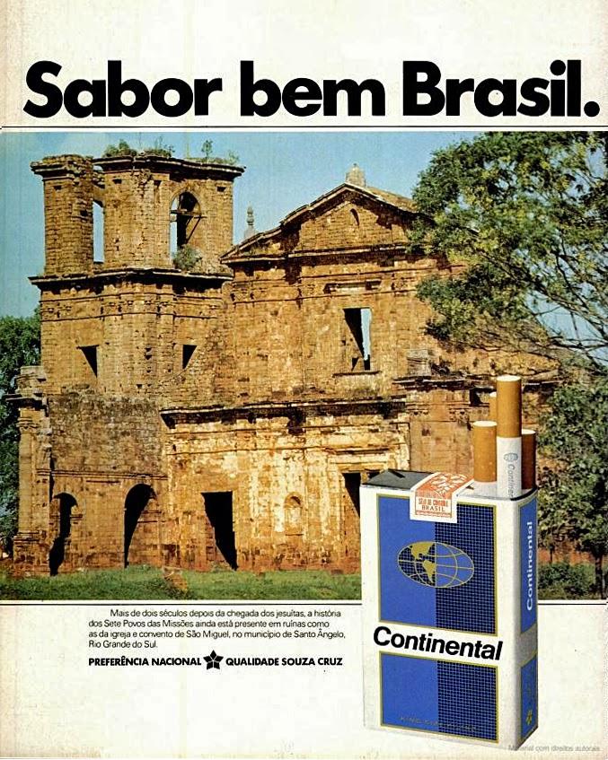 1978. propaganda cigarros anos 70.  propaganda anos 70; história decada de 70; reclame anos 70.  Brazil in the 70s. Oswaldo Hernandez;